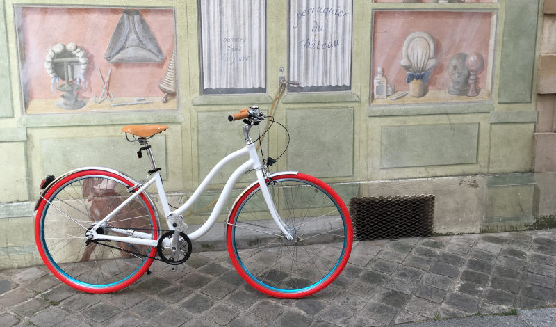 bicyclette vintage design chic fabriqué en France