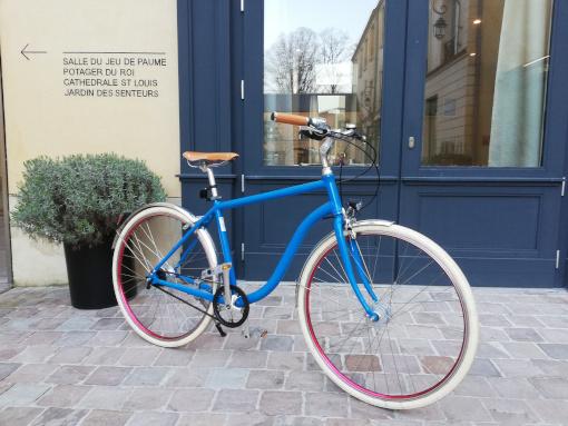 bicyclette haut de gamme courroie urbain tendance