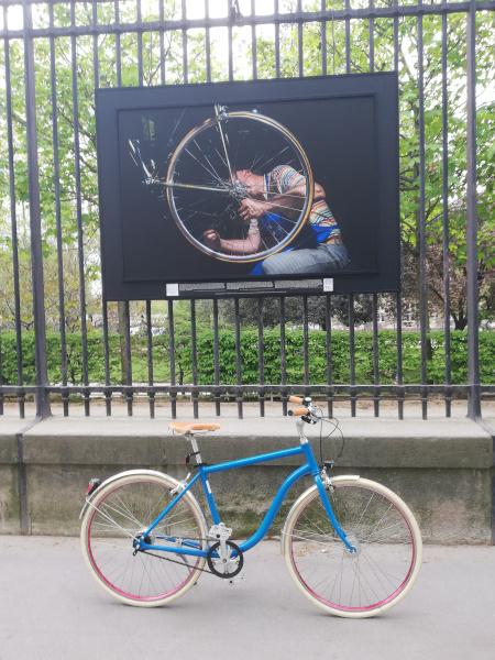 vélo de ville chic vintage lifestyle personnalisable