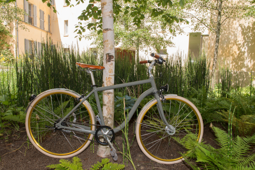 bicyclette élégant coloré courroie vintage