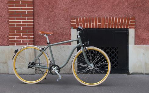 bicyclette chic design haut de gamme personnalisable urbain tendance